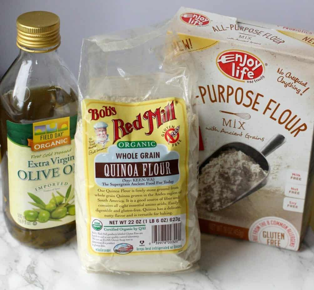 single serving quinoa pizza crust ingredients