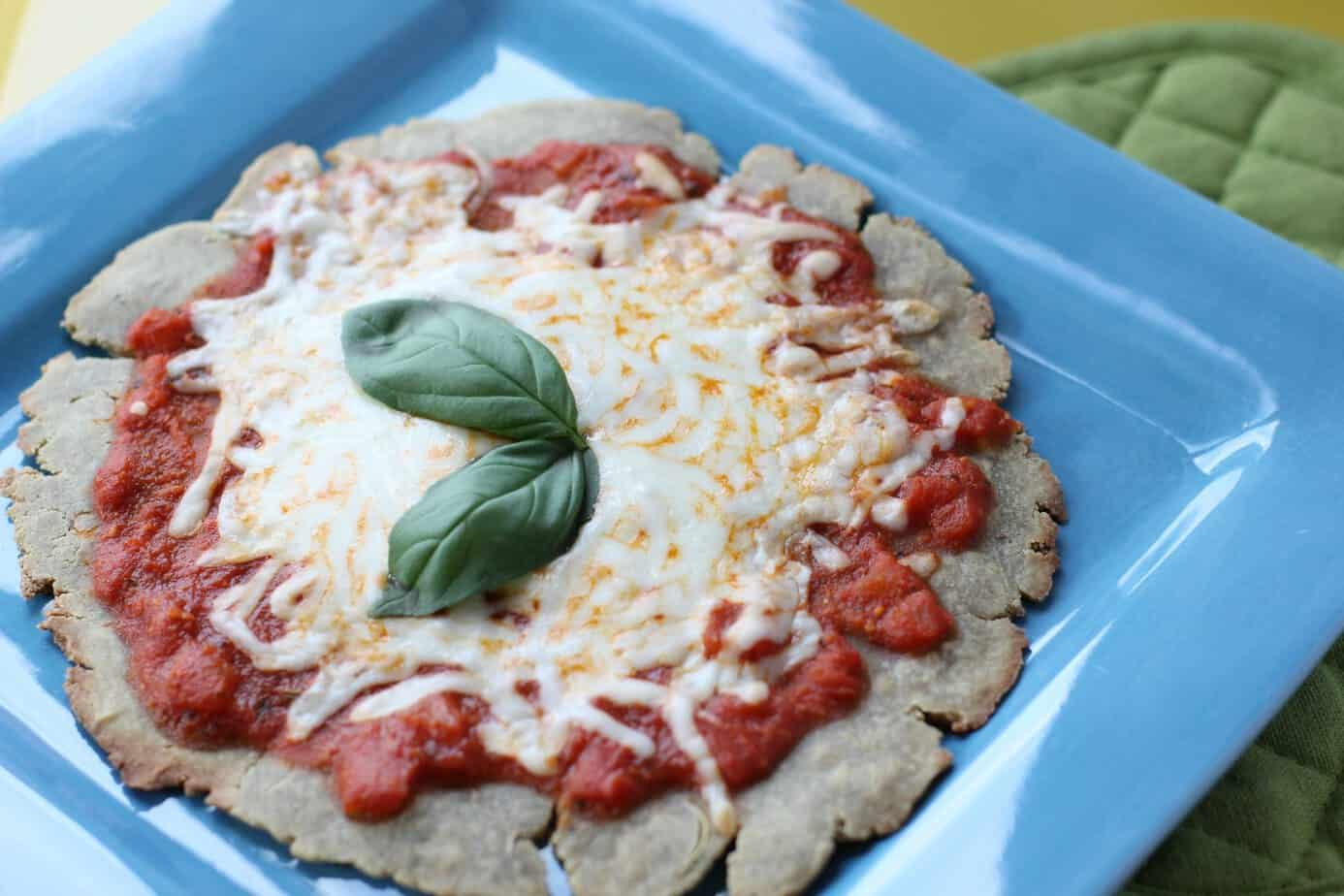 Single Serving Quinoa Pizza