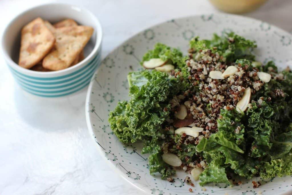 kale salad with quinoa
