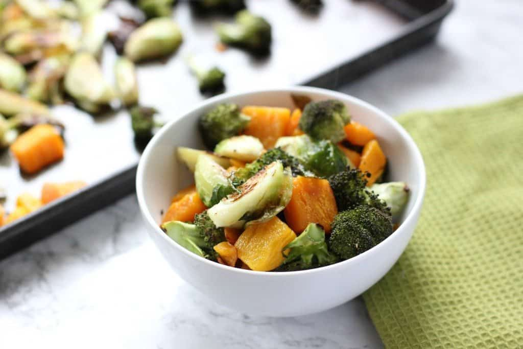 simple roasted veggies