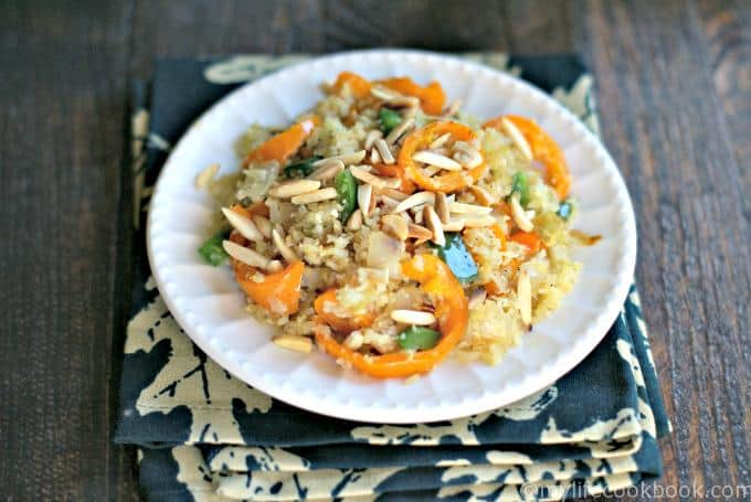 cauliflower rice stir fry