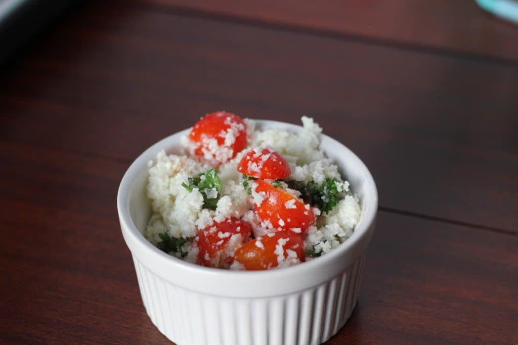 cauliflower Tabbouleh recipe