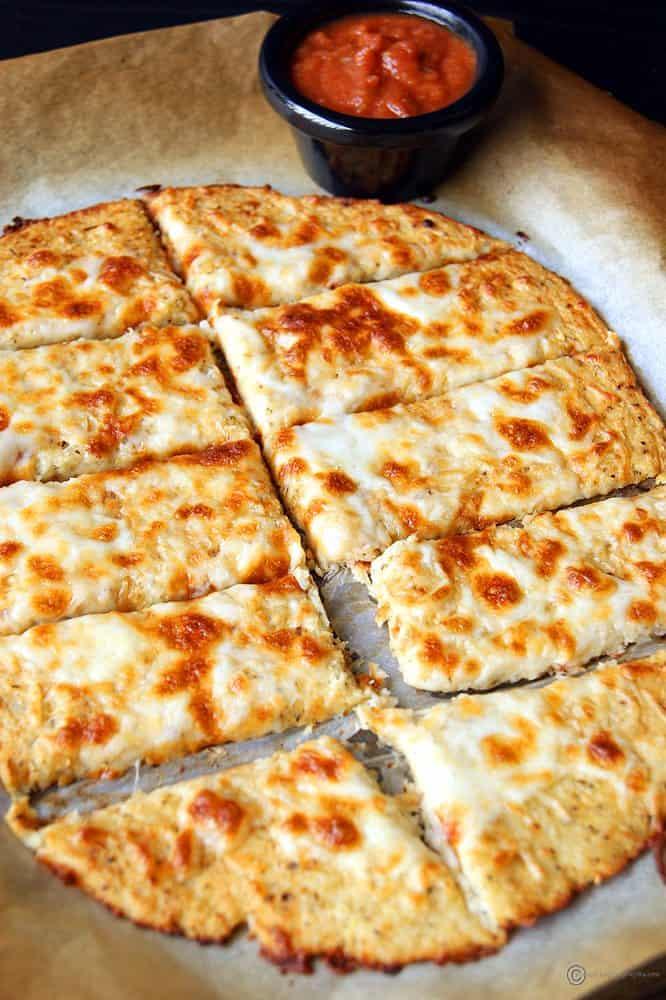 cauliflower rice breadsticks