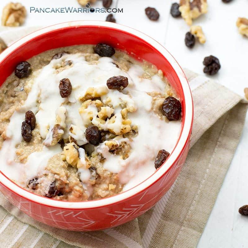 cauliflower crumble oats
