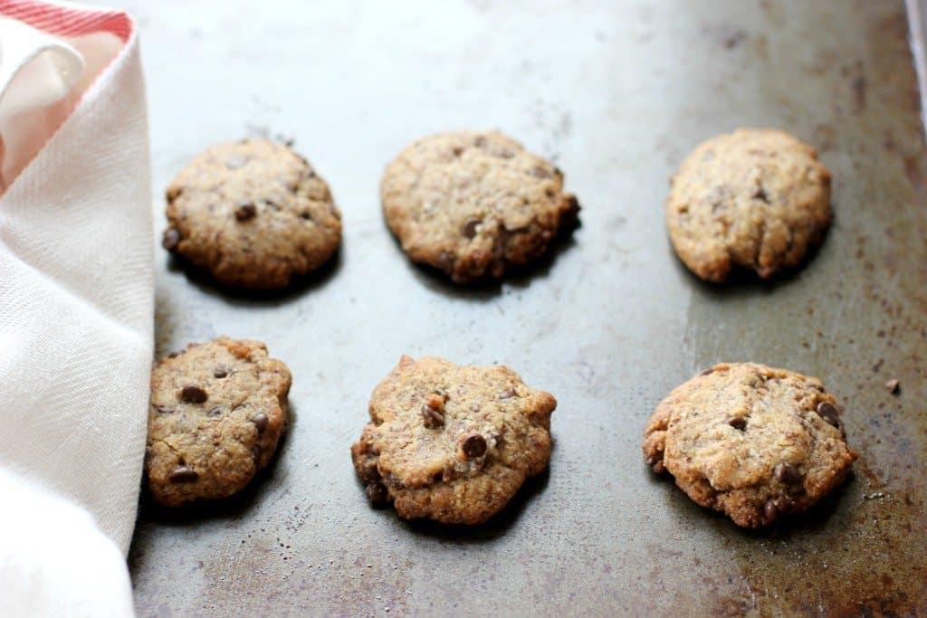 cookies on a pan