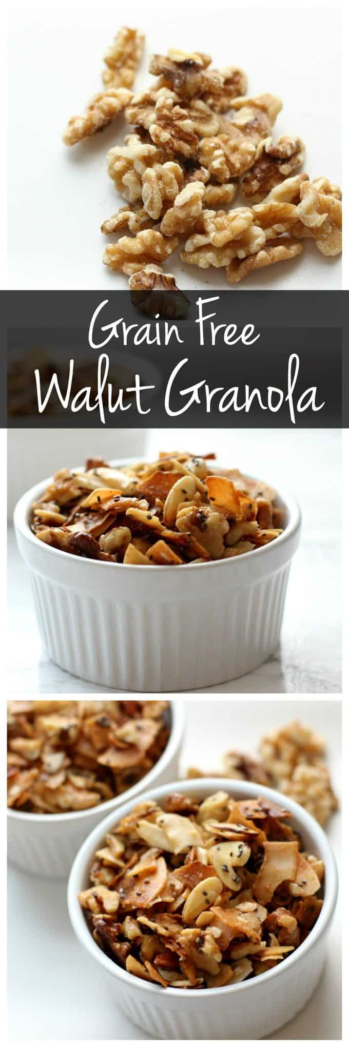 Grain Free Walnut Granola