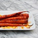 Roasted Carrots with Harissa and Honey