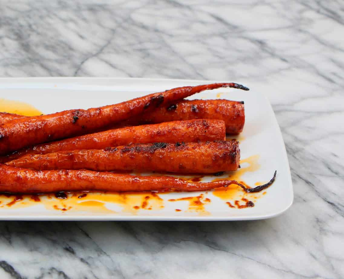 Roasted Carrots With Harissa And