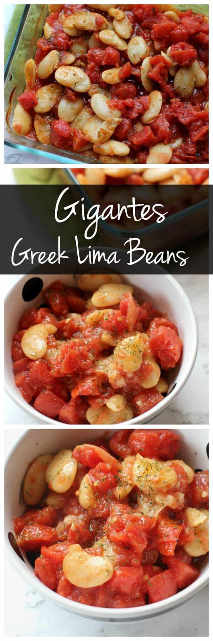 Easy Baked Gigantes (Giant Greek Lima Beans)