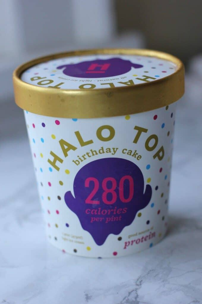 Birthday Cake Halo Top