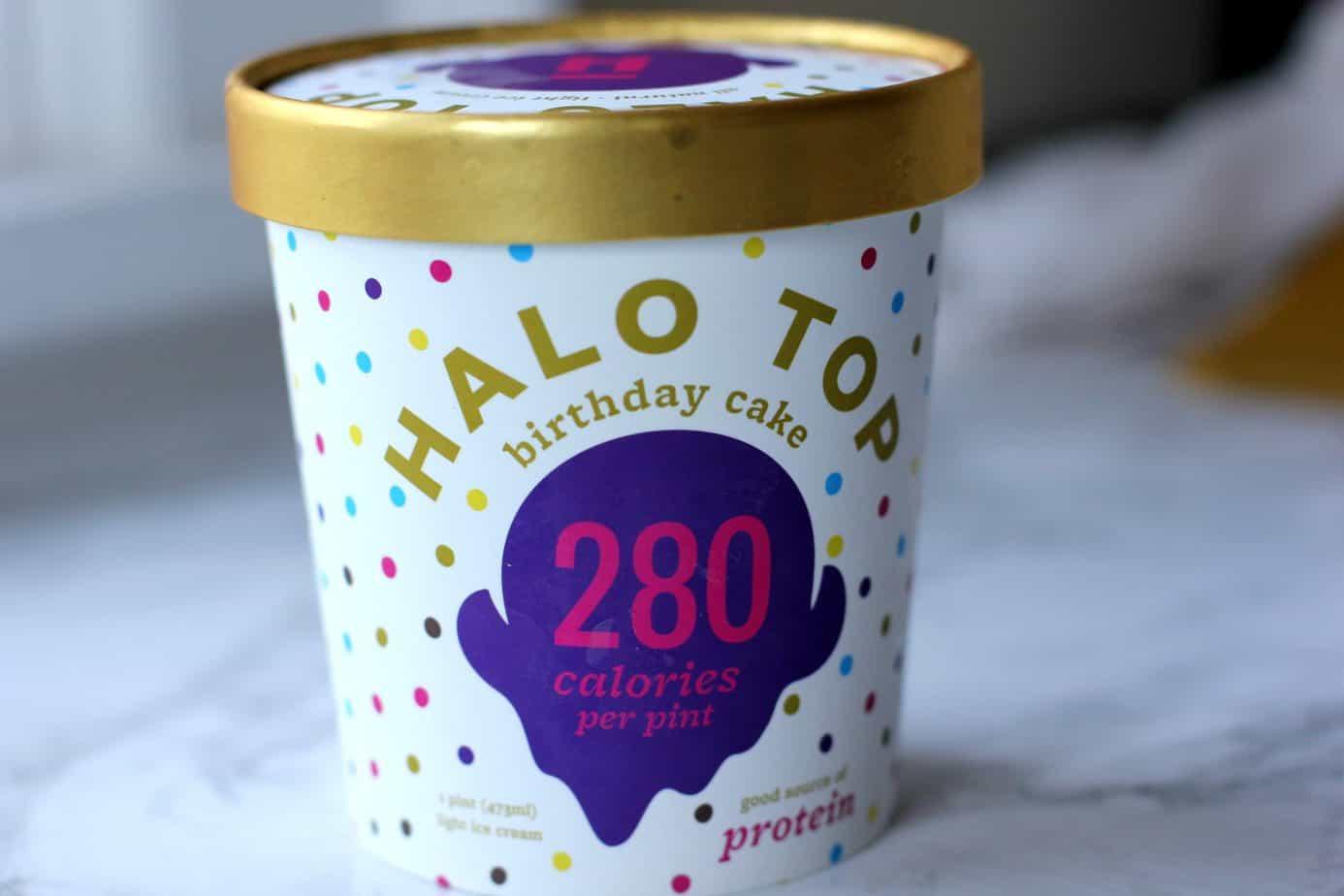 Halo Top Birthday Cake Ice Cream I Heart Vegetables