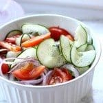 Easy Tomato Cucumber Salad