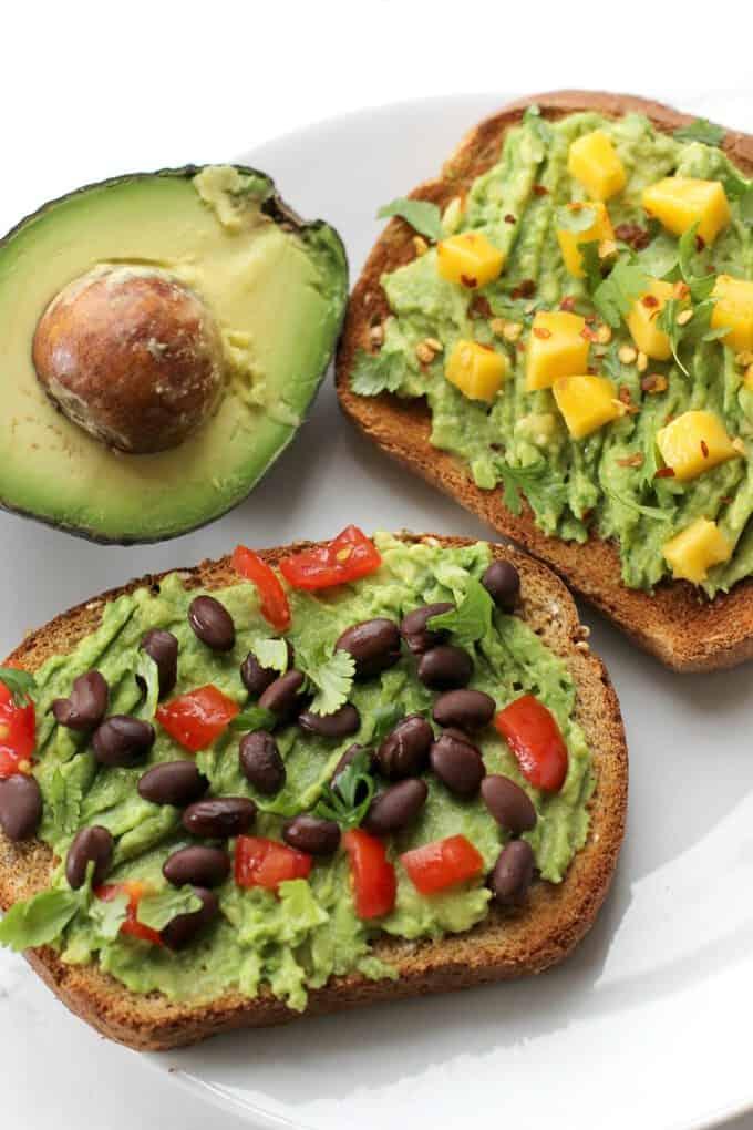 Avocado Toast: Sweet vs. Savory - I Heart Vegetables