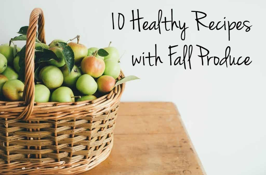Tap into fall's seasonal vegetables with these easy, healthy recipes!