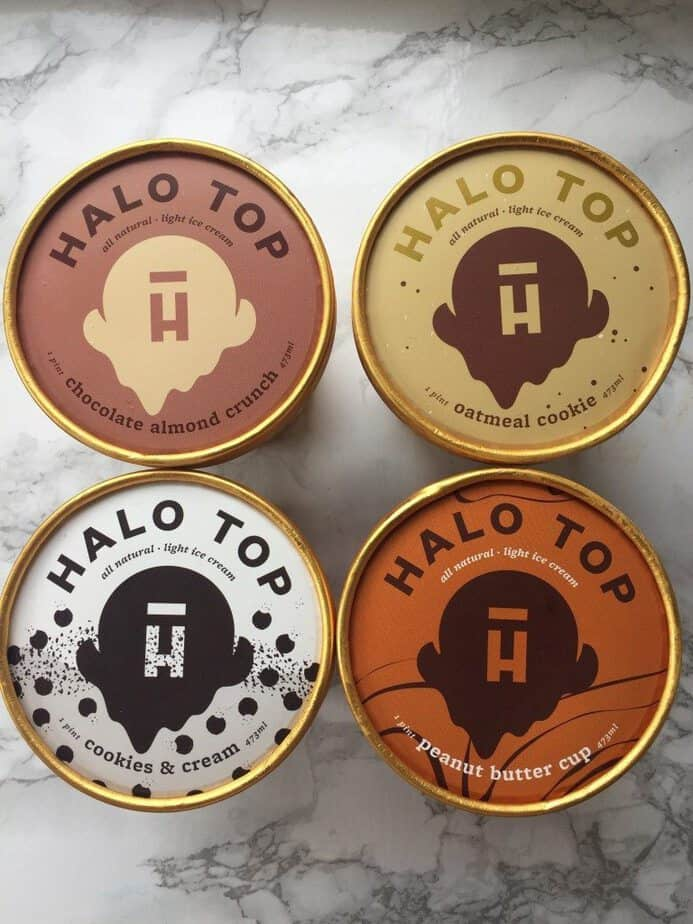 halo top flavors