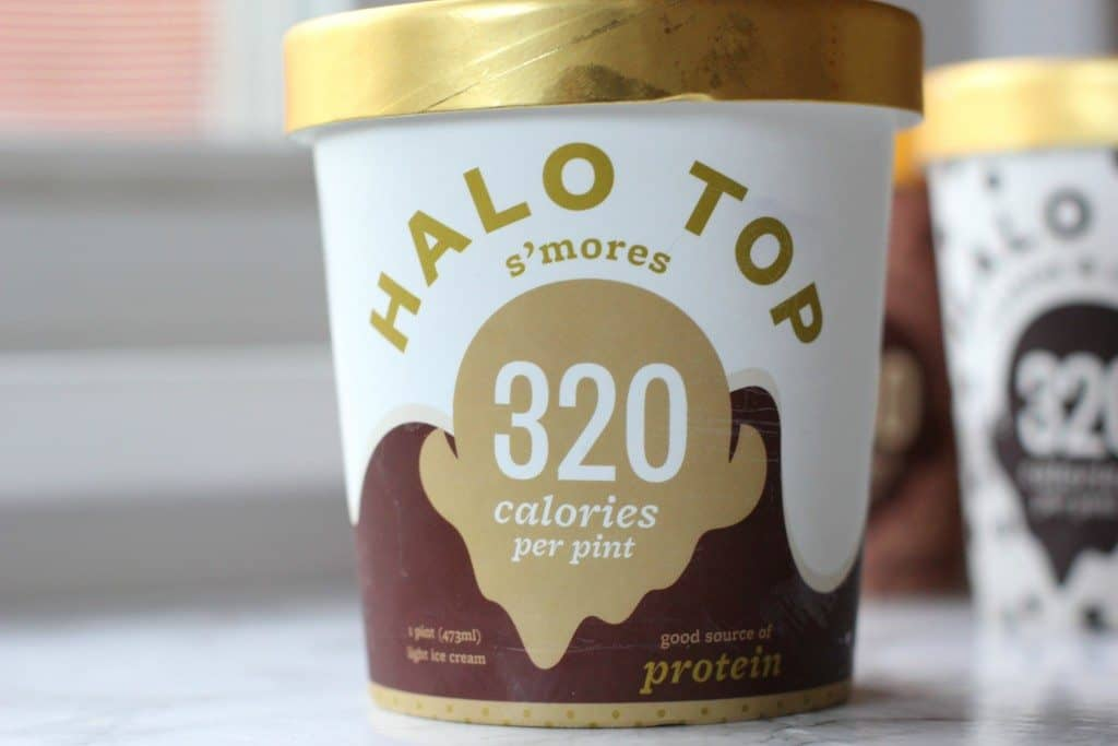 s'mores halo top