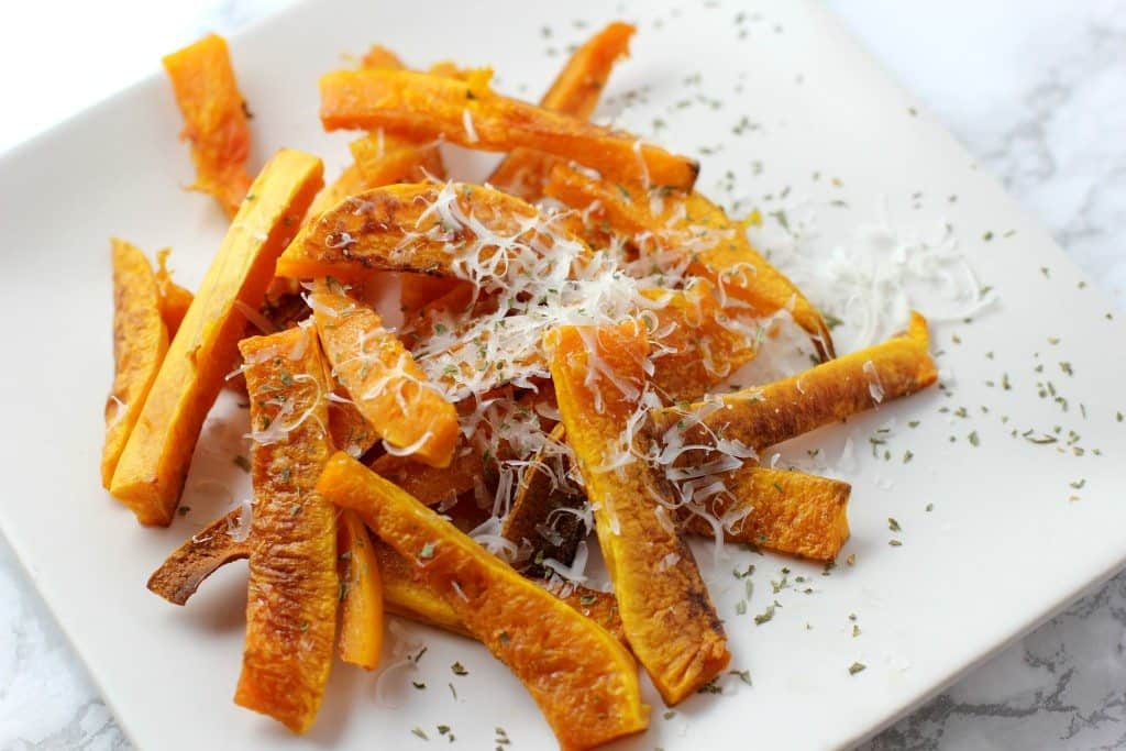 parmesan butternut squash fries