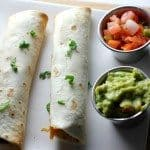 Easy Vegetarian Taquitos (Only 5 Ingredients!)