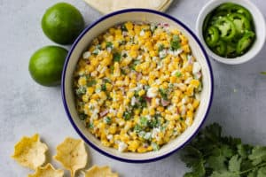 Spicy Mexican Street Corn Salad
