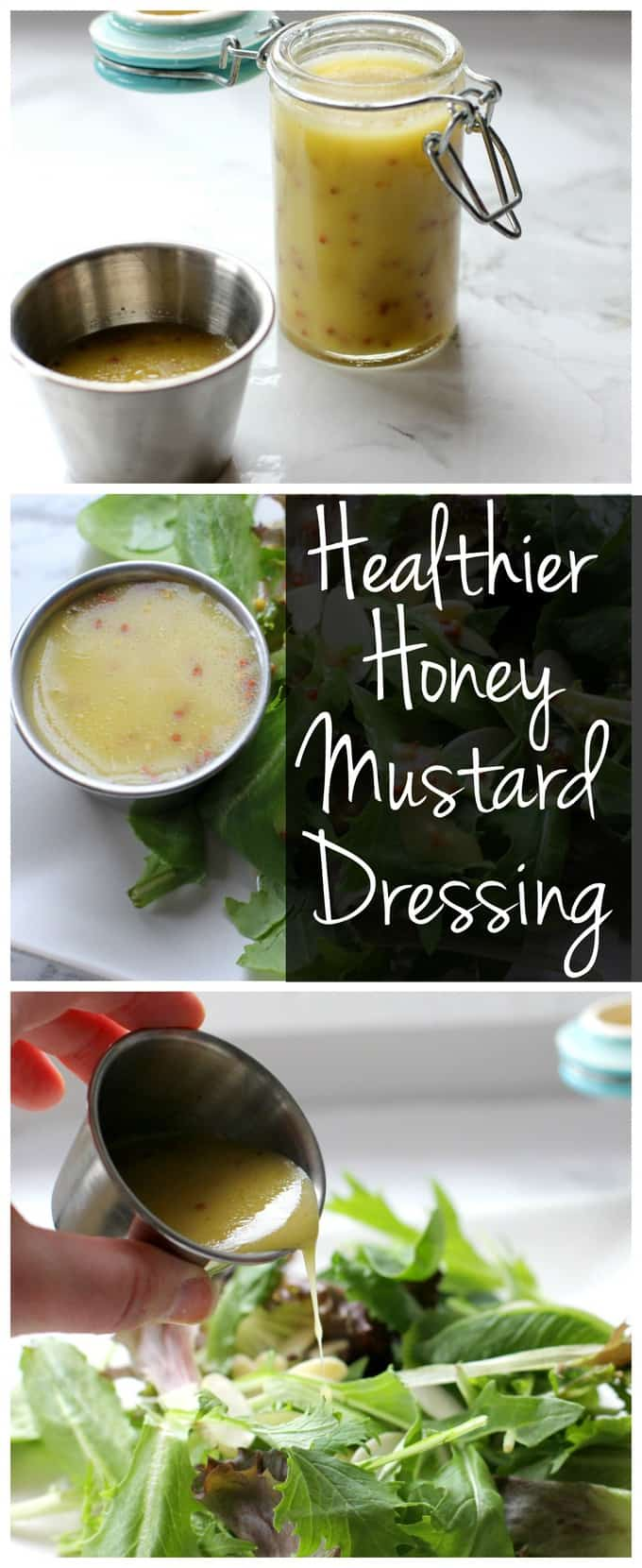 Healthier Honey Mustard Dressing