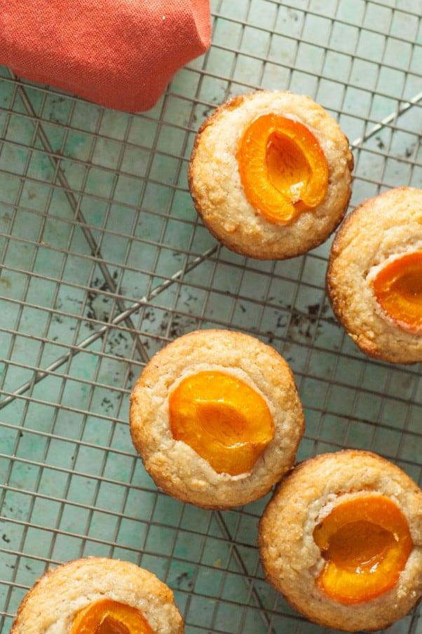 Gluten Free Almond-Apricot-Muffins
