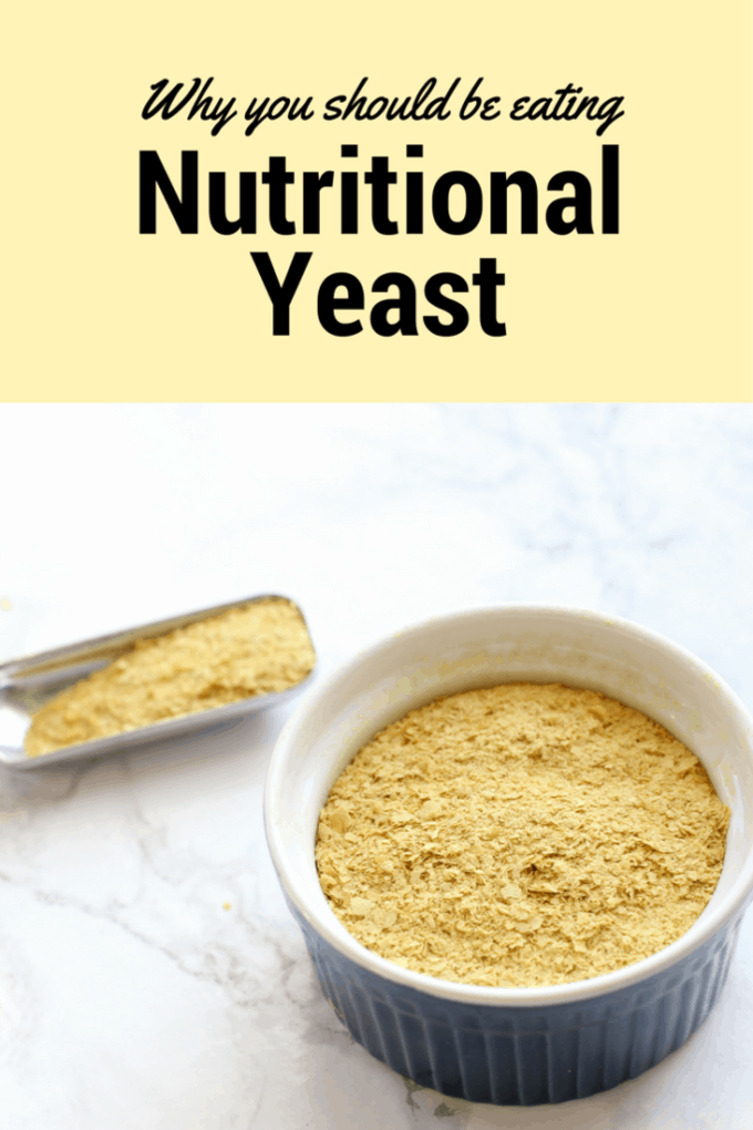 Nutritional Yeast is an amazing superfood! It's vegan, paleo, gluten free, vegetarian, and it's delicious! Click to find out how to add it into your diet!