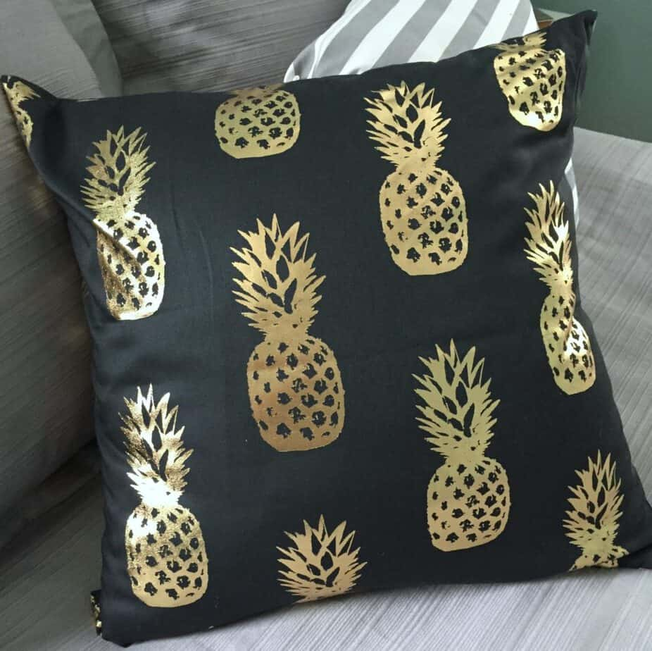 pineapple pillow covers
