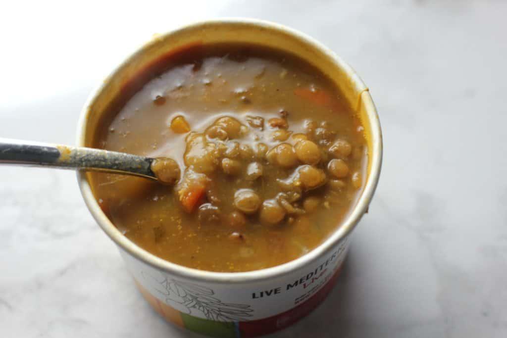 zoe's lentil soup
