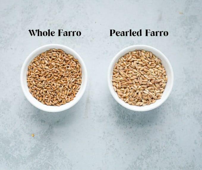 types of farro