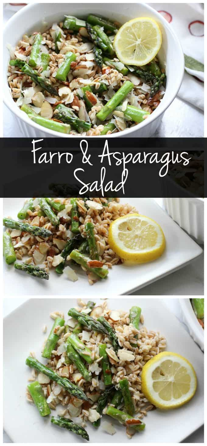 Farro and Asparagus Salad