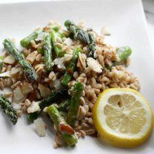 farro asparagus
