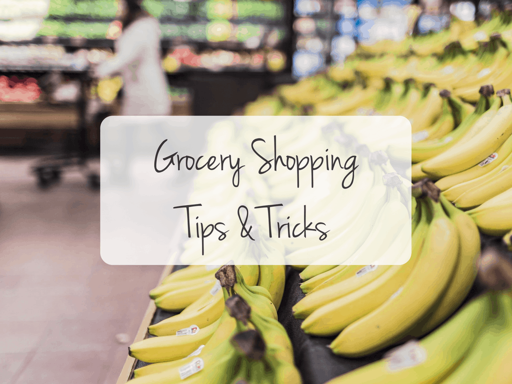 healthy shopping at the grocery store