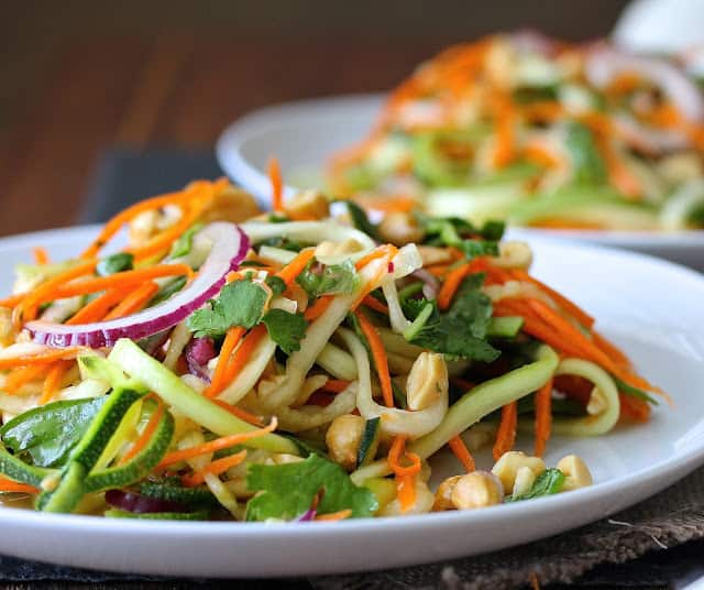 zucchini and carrot salad