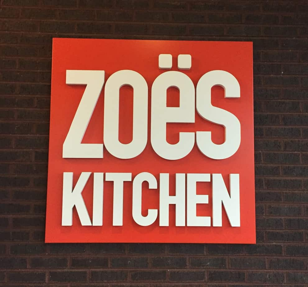 Zoes Kitchen Near Me Fast Casual Feature Zoe's Kitchen  I Heart Vegetables