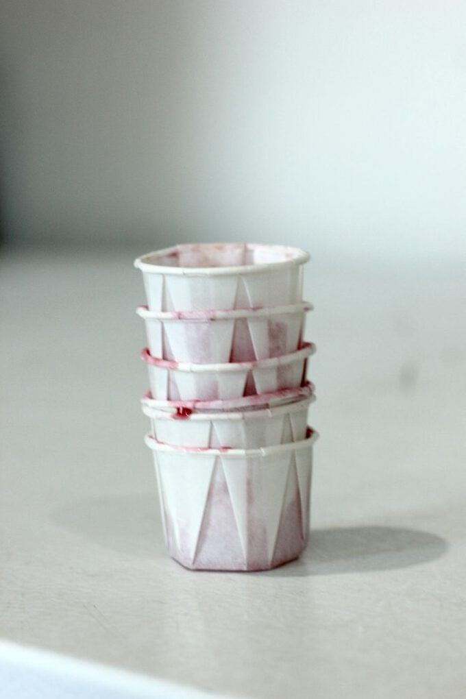 King of pops sample cups