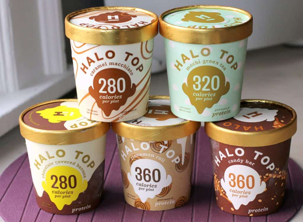Pints Of Halo Top