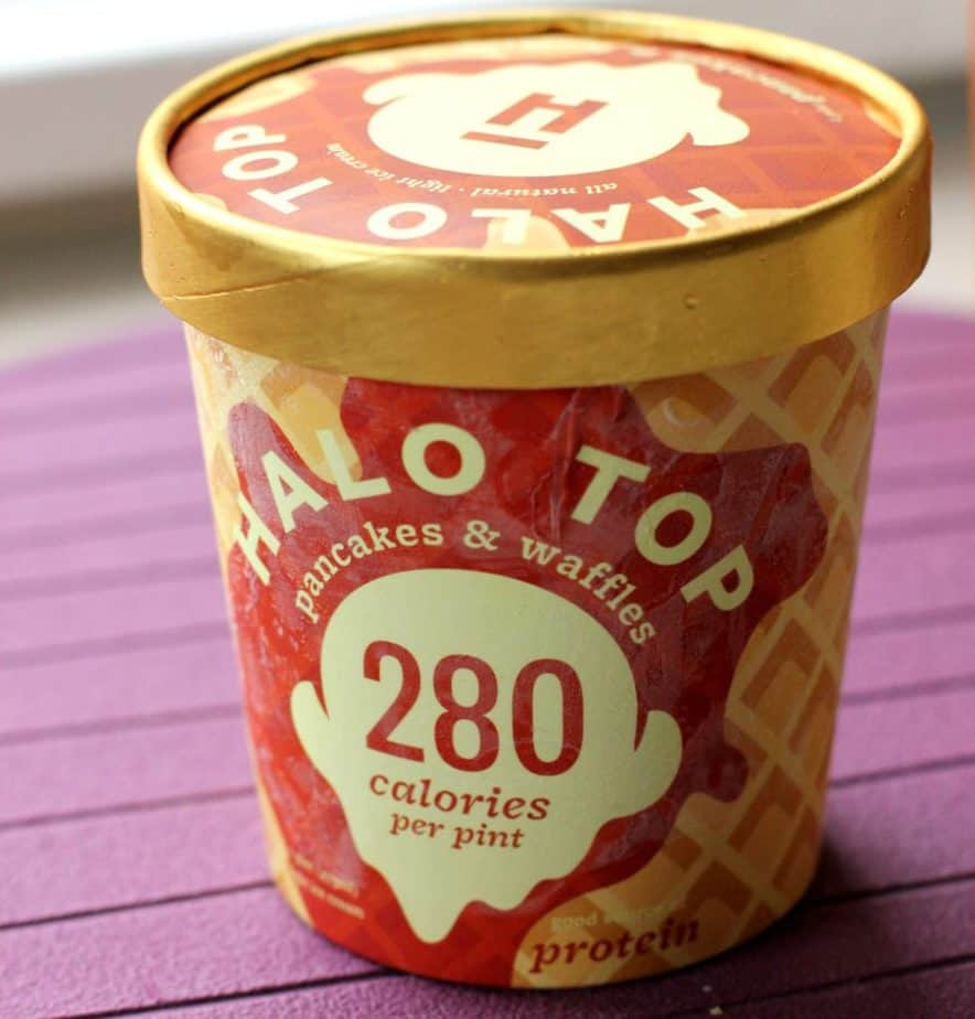 pancakes and waffles halo top flavor