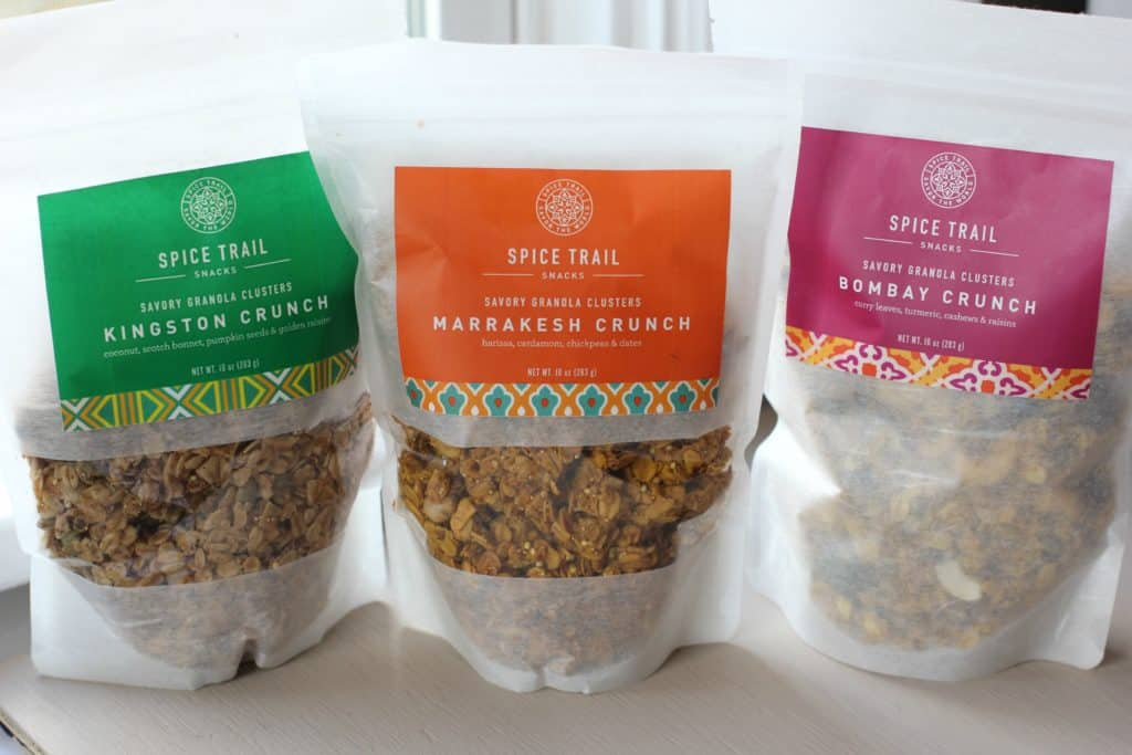 spice trail savory granola