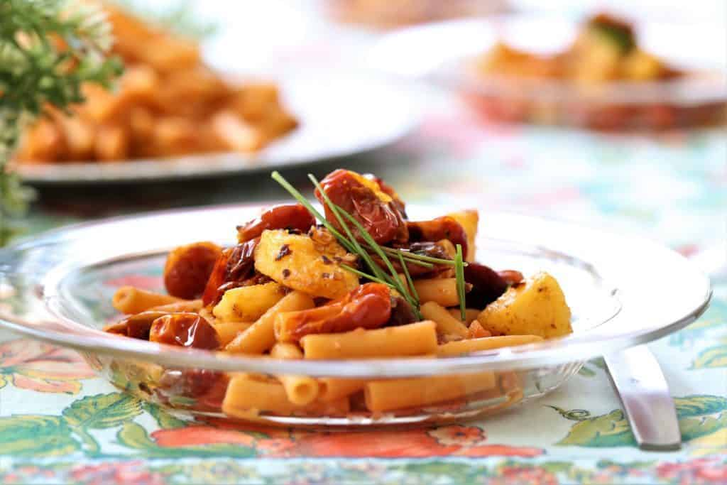 Lentil-Pasta-With-Red-Pepper-Polenta-cu-1024x683