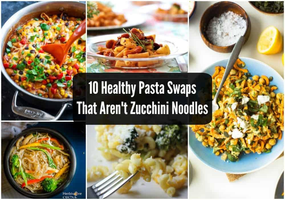 zucchini pasta swaps