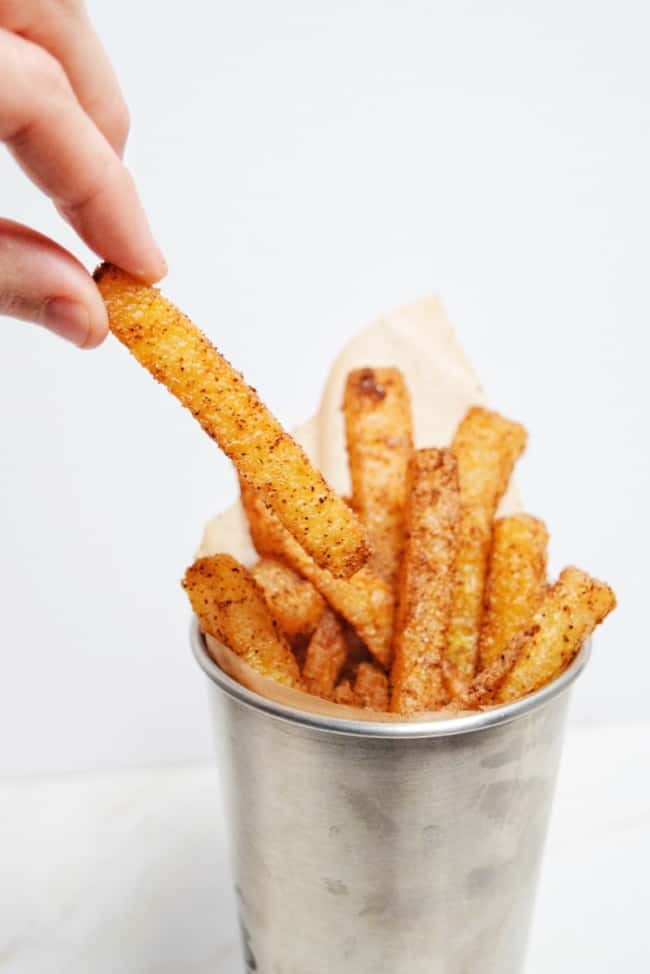 low carb jicama fries