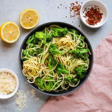 broccoli lemon pasta