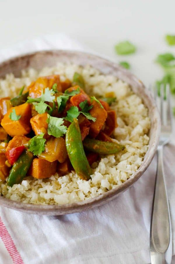 paleo vegan curry