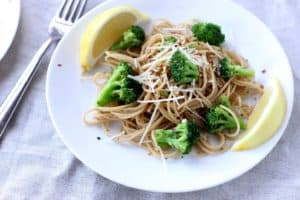 One Pot Broccoli Lemon Pasta