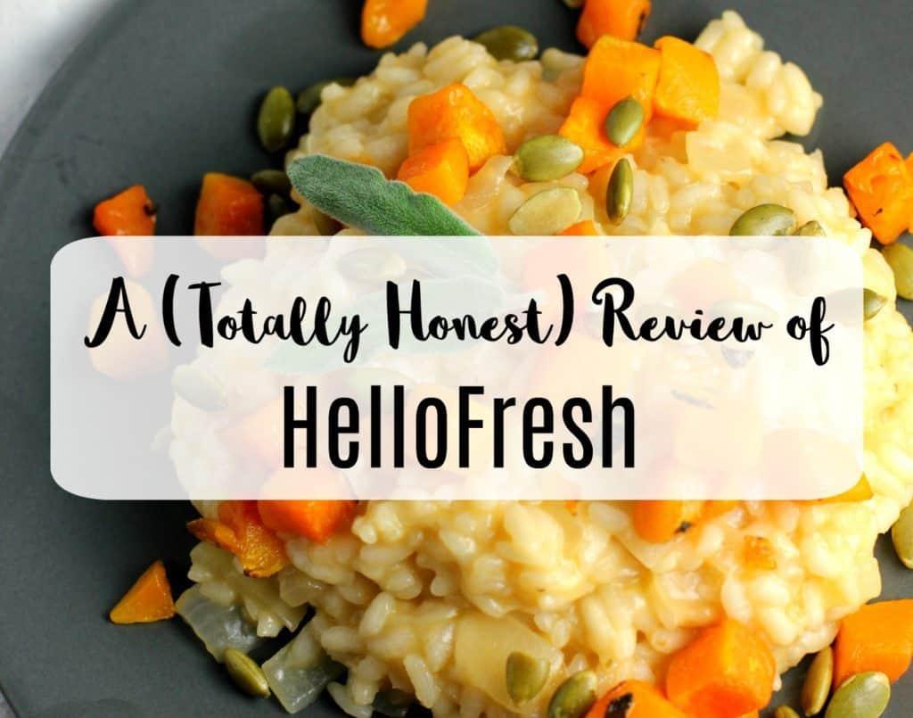 HelloFresh Vegetarian Meal Kit Review