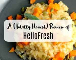 HelloFresh Vegetarian Meal Kit Review