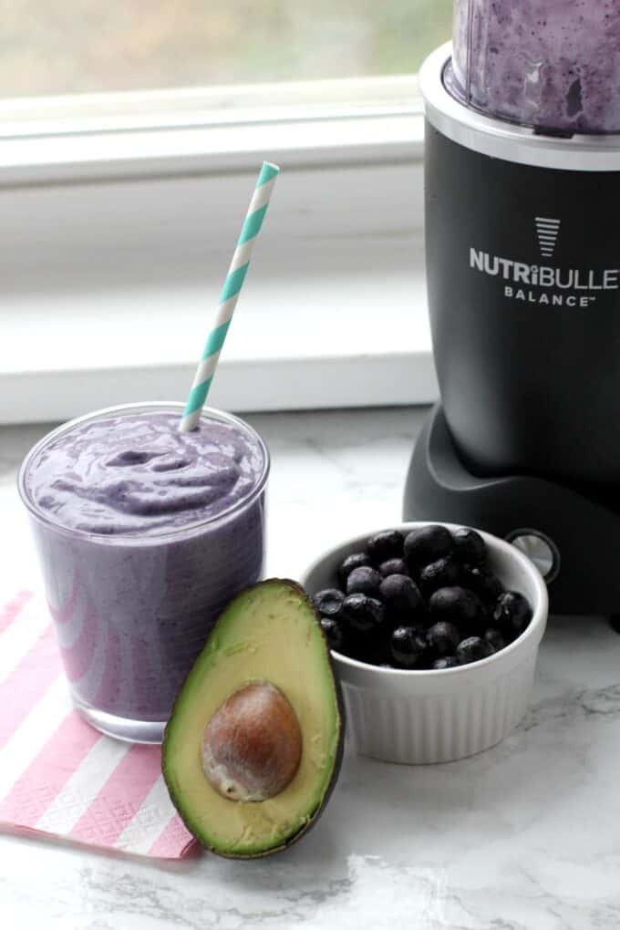 Smoothie with Nutribullet Balance Blender