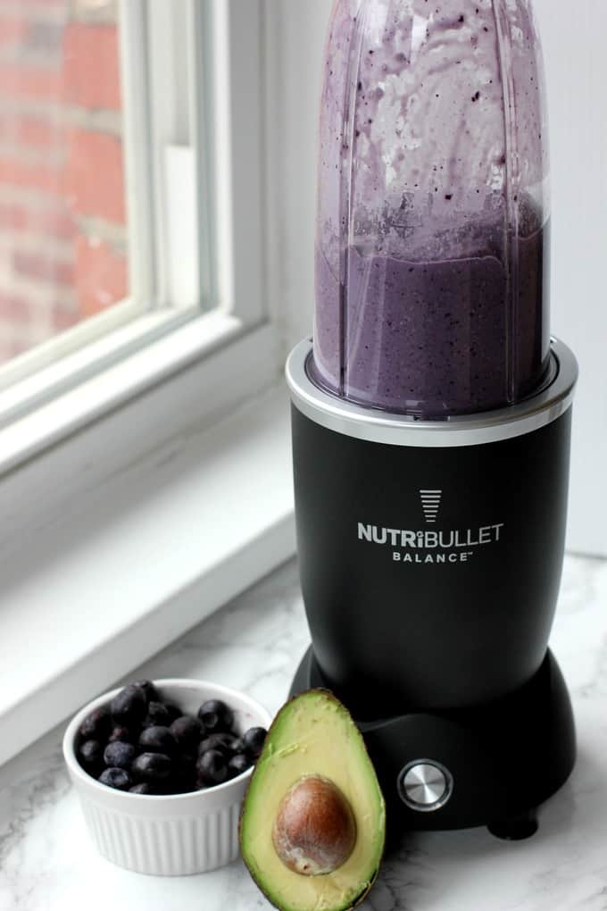 nutribullet with smoothie