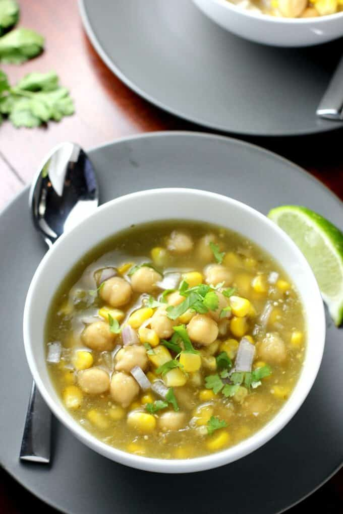 chickpea chili recipe