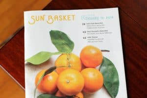 Sun Basket Vegetarian Meal Kit Review